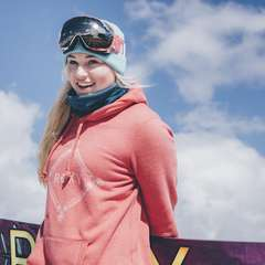 Katie Ormorod Snow Boarding
