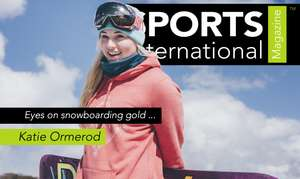 Katie Ormorod Snow Boarder