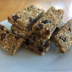 No-bake fruit, nut and seed bars