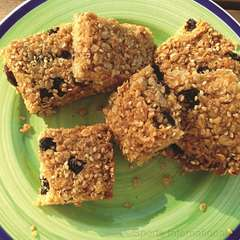 Honeyed Fruit & Nut Squares