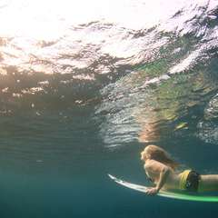 The Irish surfer